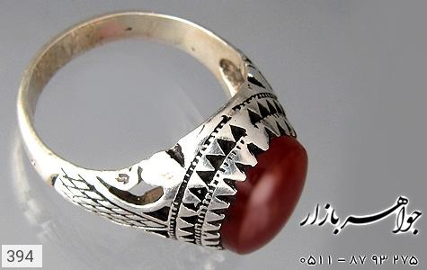 انگشتر عقیق درشت مردانه - تصویر 2