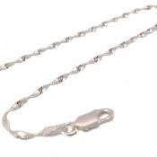 دستبند نقره پیچ اسپرت زنانه