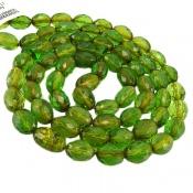 تسبیح کهربا تراش سبز دریای بالتیک 66 دانه