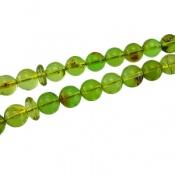 تسبیح کهربا سبز لیتوانی (دریای بالتیک) 33 دانه
