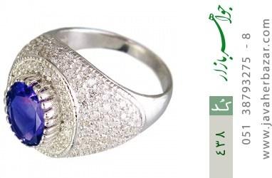 انگشتر نقره طرح اشرافی - کد 438
