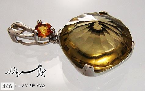 مدال سیترین زنانه - عکس 3