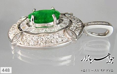 مدال جید درشت جواهری زنانه - تصویر 2
