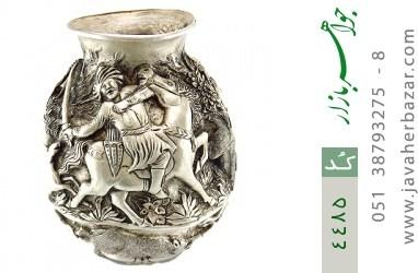 تندیس نقره لوکس هنر دست استاد میلاد هوشنگی - کد 4485