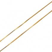 زنجیر نقره 40 سانتی رودیومیی ونیزی زنانه