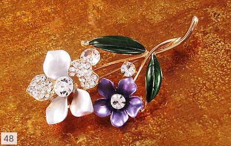 گل سینه طرح گل زنانه - عکس 3