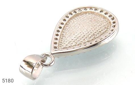 مدال نقره برلیان اتمی طرح آنوشا زنانه - تصویر 2