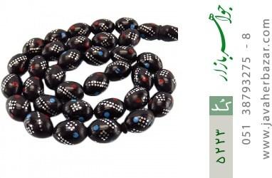 تسبیح کوک (کشکول) 33 دانه درشت مرصع کاری