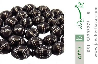 تسبیح کوک (کشکول) 33 دانه درشت مرصع کاری - کد 5224