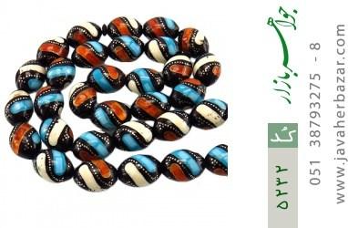 تسبیح چندنگین 33 دانه درشت مرصع مصری - کد 5232