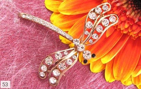 گل سینه سنجاقک زنانه - عکس 3