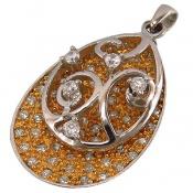 مدال نقره طرح متحرک زنانه