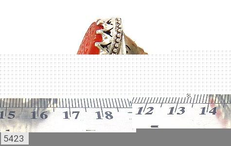 انگشتر عقیق یمن حکاکی المهدی طاووس اهل الجنة استاد احمد هنر دست استاد عبدی - عکس 7