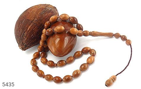 تسبیح کوک (کشکول) 33 دانه درشت هلی - عکس 3