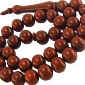 تسبیح کوک (کشکول) 33 دانه گرد مرغوب