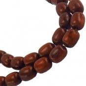 تسبیح کوک (کشکول) 33 دانه خوش رنگ استوانه ای