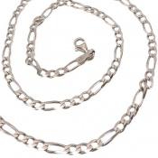 زنجیر نقره درشت 52 سانتی مردانه