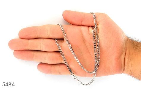 زنجیر نقره درشت 52 سانتی مردانه - عکس 5