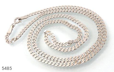 زنجیر نقره مردانه - عکس 1