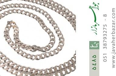 زنجیر نقره مردانه - کد 5485