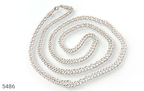 زنجیر نقره اسپرت درشت مردانه - عکس 1