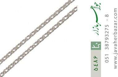 زنجیر نقره اسپرت درشت مردانه - کد 5486