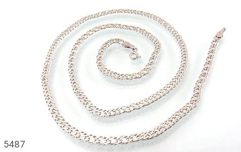 زنجیر نقره سنگین و درشت مردانه - عکس 1