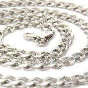 زنجیر نقره اسپرت مردانه