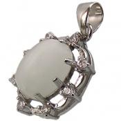 مدال چشم گربه شیری دامله زنانه