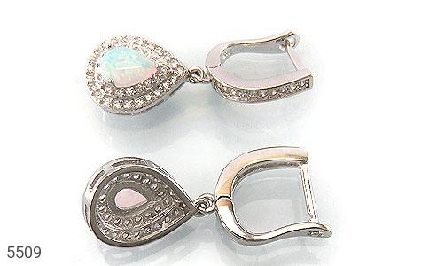 سرویس نقره اپال سفید سنتاتیک طرح اشکی زنانه - عکس 5