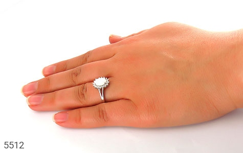سرویس نقره اپال سفید سنتاتیک زنانه - عکس 9