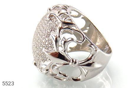 انگشتر نقره باشکوه و درشت زنانه - عکس 1