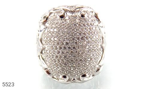 انگشتر نقره باشکوه و درشت زنانه - عکس 3