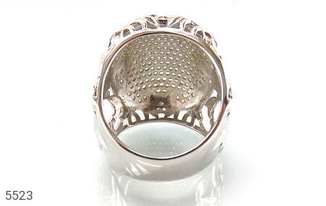 انگشتر نقره باشکوه و درشت زنانه - تصویر 4