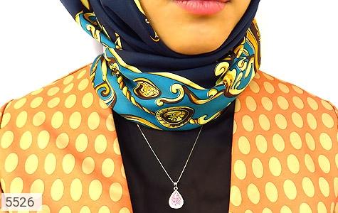 مدال نقره طرح اشکی درخشان زنانه - تصویر 6