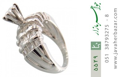انگشتر نقره سولیتر مجلسی - کد 5529