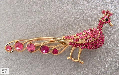 گل سینه طاووس زنانه - عکس 3