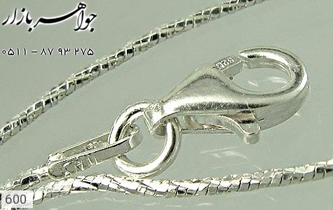 زنجیر نقره ایتالیایی - تصویر 4