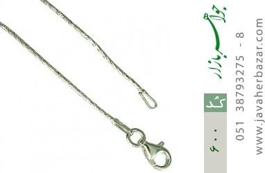 زنجیر نقره ایتالیایی - کد 600