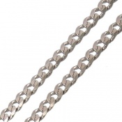 زنجیر نقره درشت و سنگین 50 سانتی مردانه