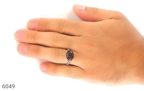 انگشتر عقیق حکاکی یا رحمن یا رحیم - عکس 5
