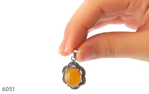 مدال عقیق یمن حکاکی شرف الشمس - عکس 5