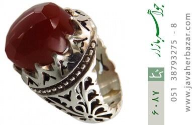 انگشتر عقیق یمن هنر دست استاد احدی - کد 6087