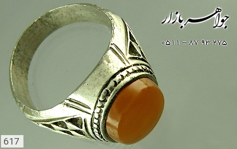 انگشتر عقیق یمن حکاکی شرف الشمس - تصویر 2