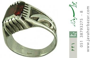 انگشتر نقره ترک طرح ذوالفقار مردانه - کد 631