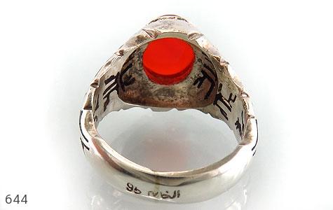 انگشتر عقیق یمن هنر دست استاد الخاتم - عکس 3