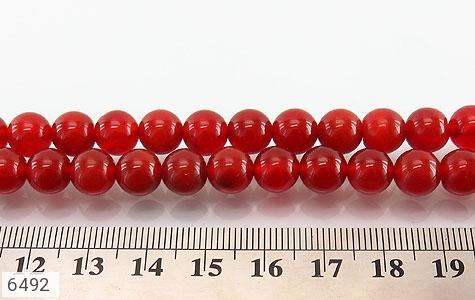 تسبیح عقیق قرمز 101 دانه درشت - تصویر 2