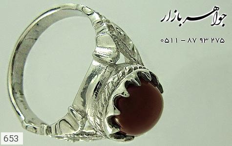 انگشتر عقیق یمن - عکس 3