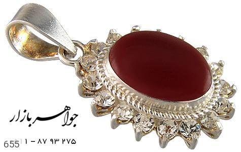 مدال عقیق قرمز سنتی زنانه - تصویر 4