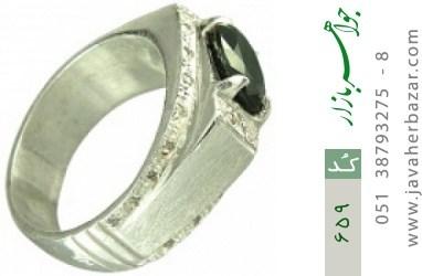 انگشتر یاقوت رکاب دست ساز - کد 659